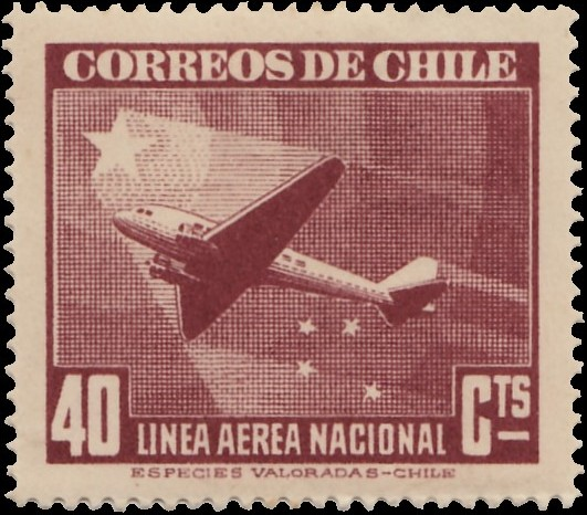 Chile 1941 Air Post Stamps (Type 1941) d.jpg