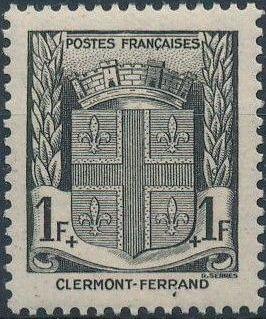 France 1941 Coat of Arms (Semi-Postal Stamps) f.jpg