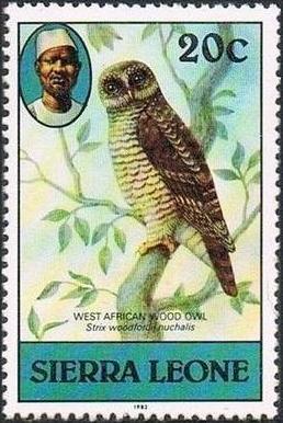 Sierra Leone 1982 Birds from 1980 Imprint 1982 h.jpg
