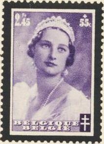 Belgium 1935 Queen Astrid Memorial Issue h.jpg