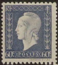 France 1945 Marianne de Dulac (2nd Issue) e.jpg