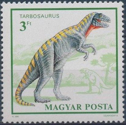 Hungary 1990 Prehistoric Animals
