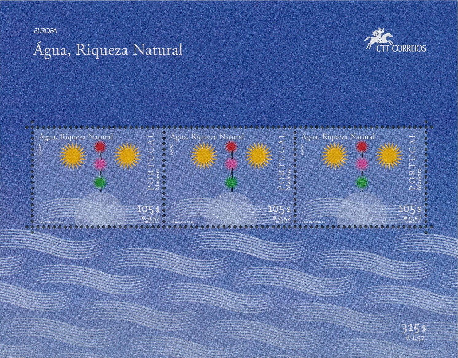 Madeira 2001 Europa - Water, natural wealth