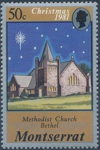 Montserrat 1981 Christmas (Churches)