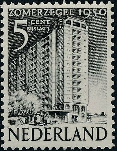 Netherlands 1950 Surtax for Social and Cultural Works c.jpg