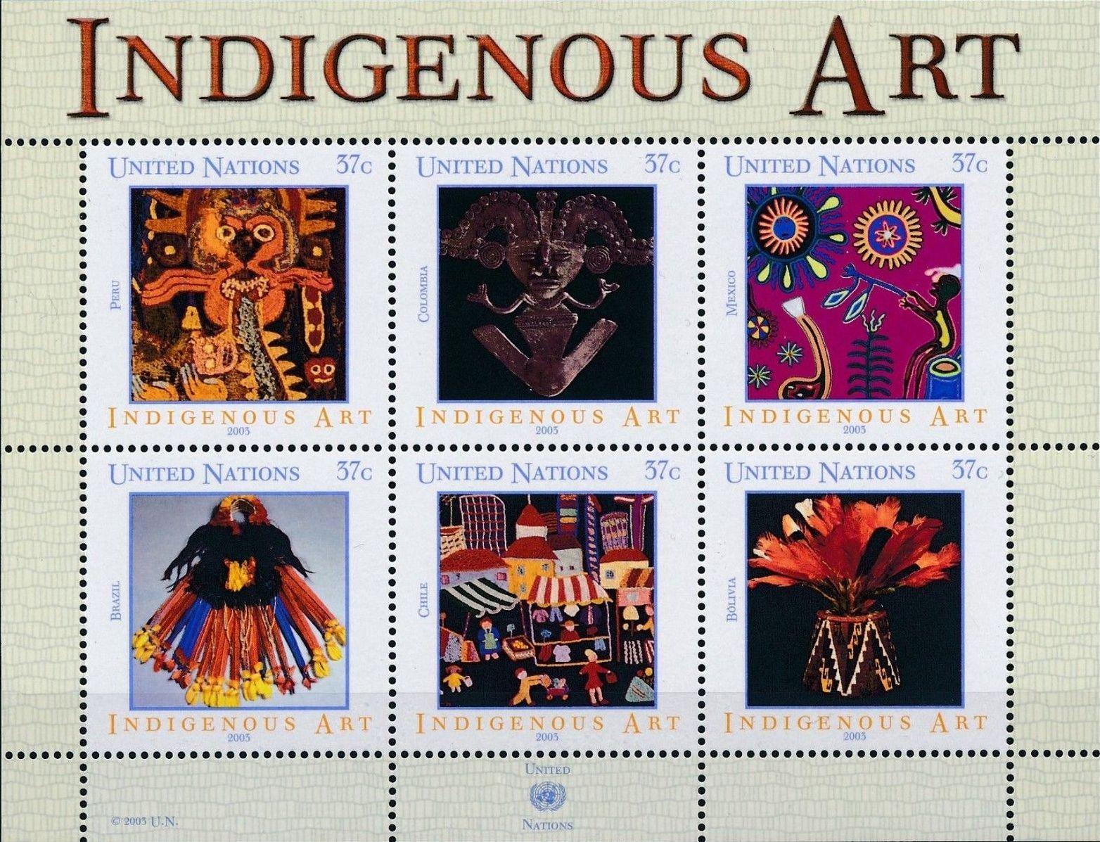 United Nations-New York 2003 Indigenous Art
