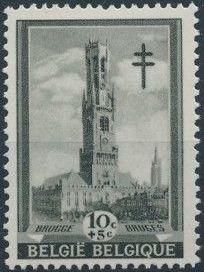 Belgium 1939 Anti Tuberculosis - Belfries a.jpg