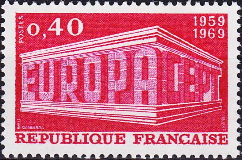 France 1969 EUROPA
