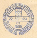 Portugal 1954 150th Anniversary of the Founding of the State Secretariat for Financial Affairs PMb.jpg