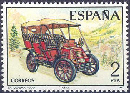 Spain 1977 Spanish Pioneer Automobiles