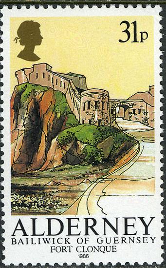 Alderney 1986 Alderney Forts c.jpg