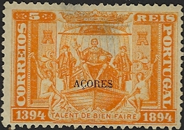 Azores 1894 500th Anniversary of Prince Henry