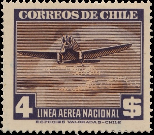 Chile 1941 Air Post Stamps (Type 1941) k.jpg