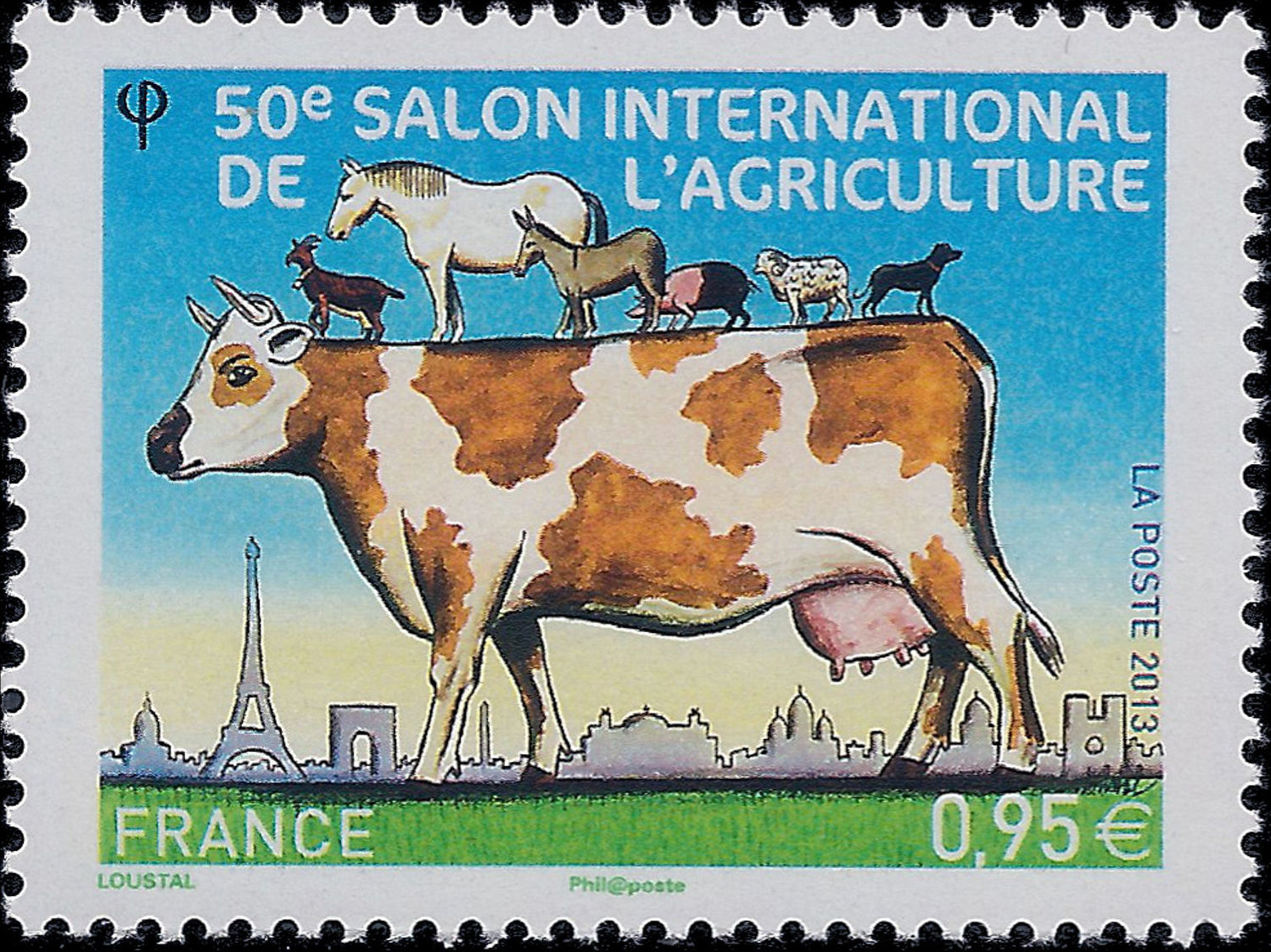France 2013 50th International Exhibition of Agriculture