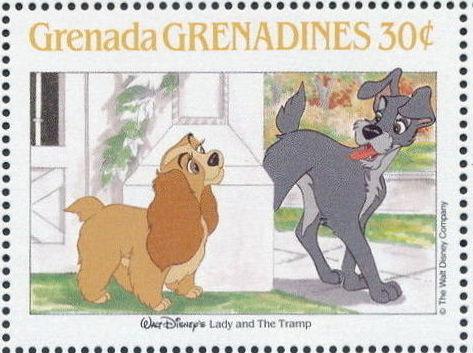 Grenada Grenadines 1988 The Disney Animal Stories in Postage Stamps 5b.jpg