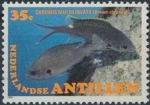 Netherlands Antilles 1982 Fishes