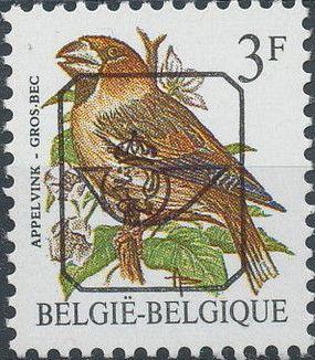 Belgium 1985 Birds (Precanceled)
