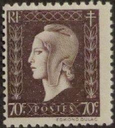 France 1945 Marianne de Dulac (2nd Issue) f.jpg