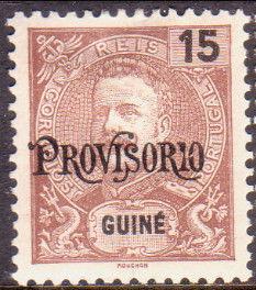 Guinea, Portuguese 1902 D. Carlos I Overprint