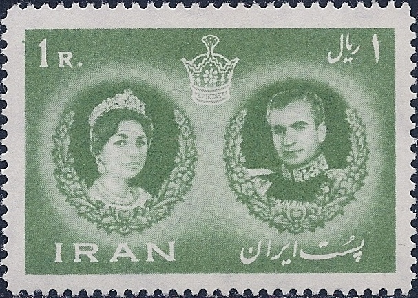 Iran 1960 Wedding of Mohammad Rezā Shāh Pahlavī and Farah Diba