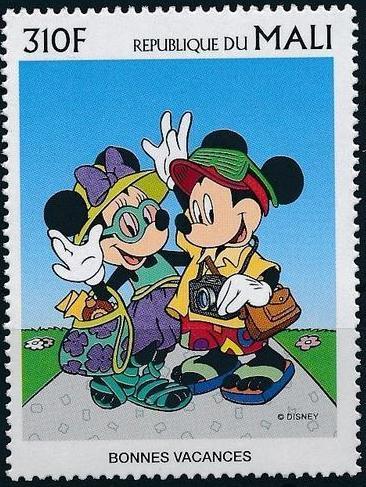 Mali 1997 Greetings Stamps - Walt Disney Characters g.jpg
