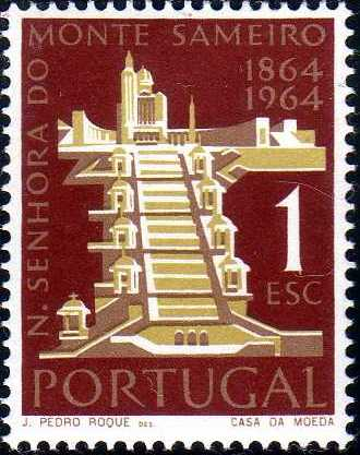Portugal 1964 Centenary of the Shrine of Our Lady of Mt. Sameiro, Braga a.jpg