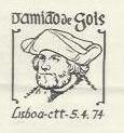 Portugal 1974 4th Centenary of the Death of Damião de Gois PMa.jpg
