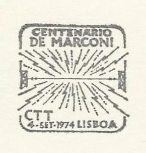 Portugal 1974 Centenary of Birth of Guglielmo Marconi