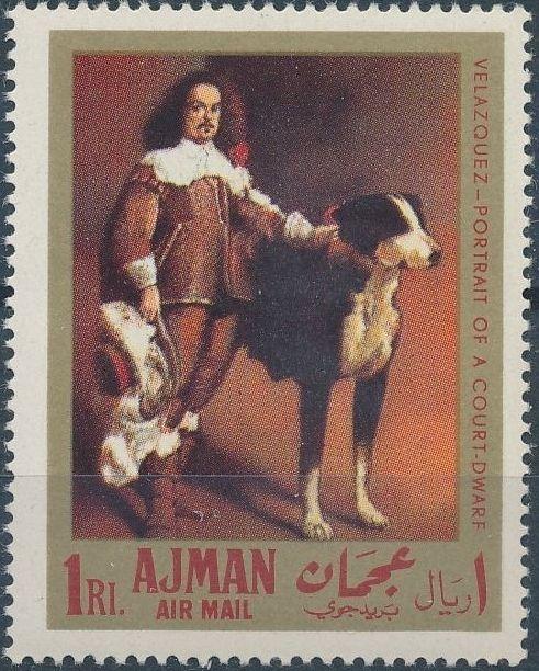 Ajman 1968 Paintings by Diego Rodriguez de Silva y Velazquez b.jpg