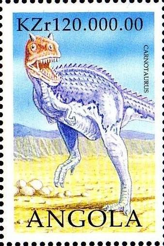 Angola 1998 Prehistoric Animals (2nd Group) f.jpg