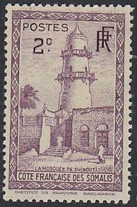 French Somali Coast 1938 Definitives