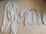 USAF old PT Sweatpants and Sweatshirt