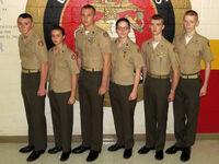 MCJROTC service uniform