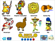 Ex south american stickers