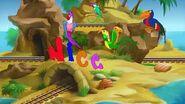 JumpStart Preschool (1998 1999) - Letter Island