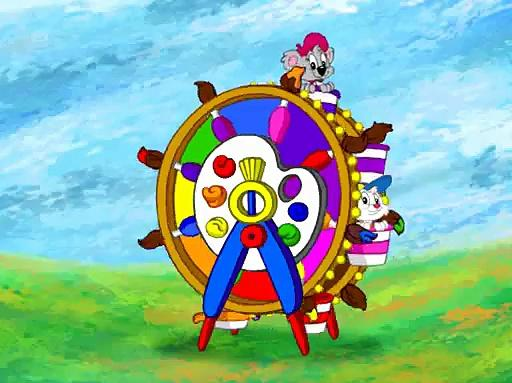 JumpStart Artist - Painting Ferris Wheel