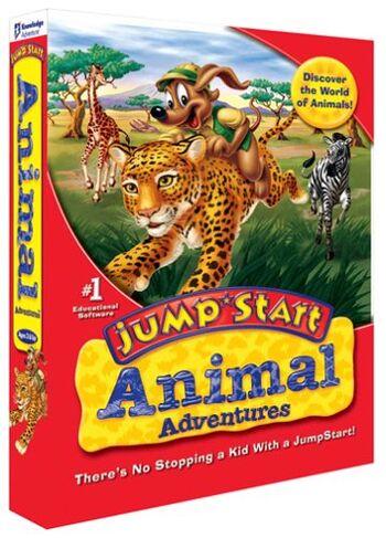 Image of JumpStart Animal Adventures.