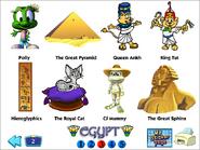 Ex egypt stickers
