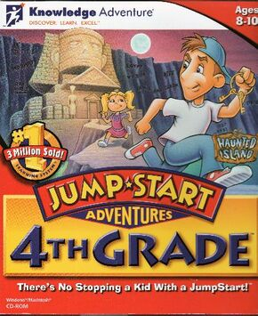 JumpStart Adventures 4th Grade 1996 Game Cover.jpg