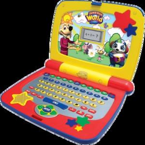 "Image of JumpStart World ""Growing Smart"" Tag Along Laptop."