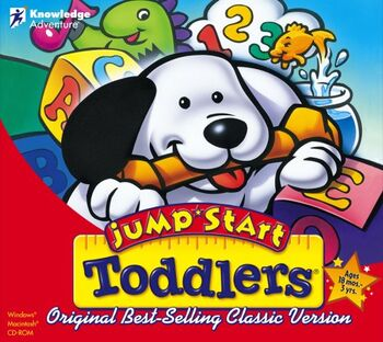 Image of JumpStart Toddlers.