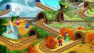 JumpStart Preschool (1998 1999) - The Land of Many Seasons