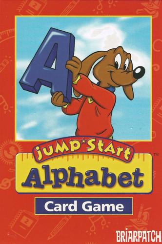 Image of JumpStart Alphabet Card Game.
