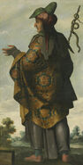This is Dan by Francisco de Zurbarán