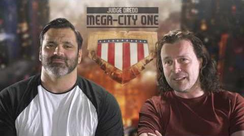 Judge Dredd Mega-City One TV show announced