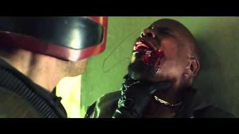 Dredd interrogation scene