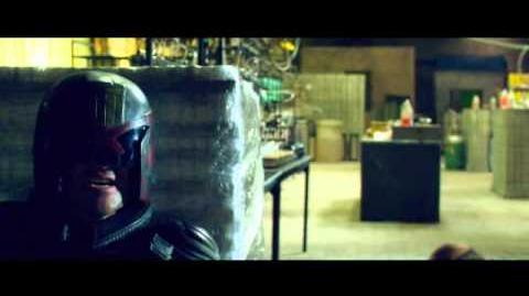 Judge Dredd gets shot