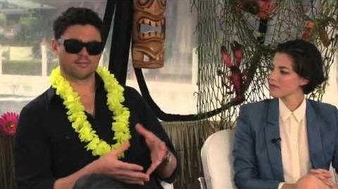 Karl & Olivia Interview DREDD SDCC 2012