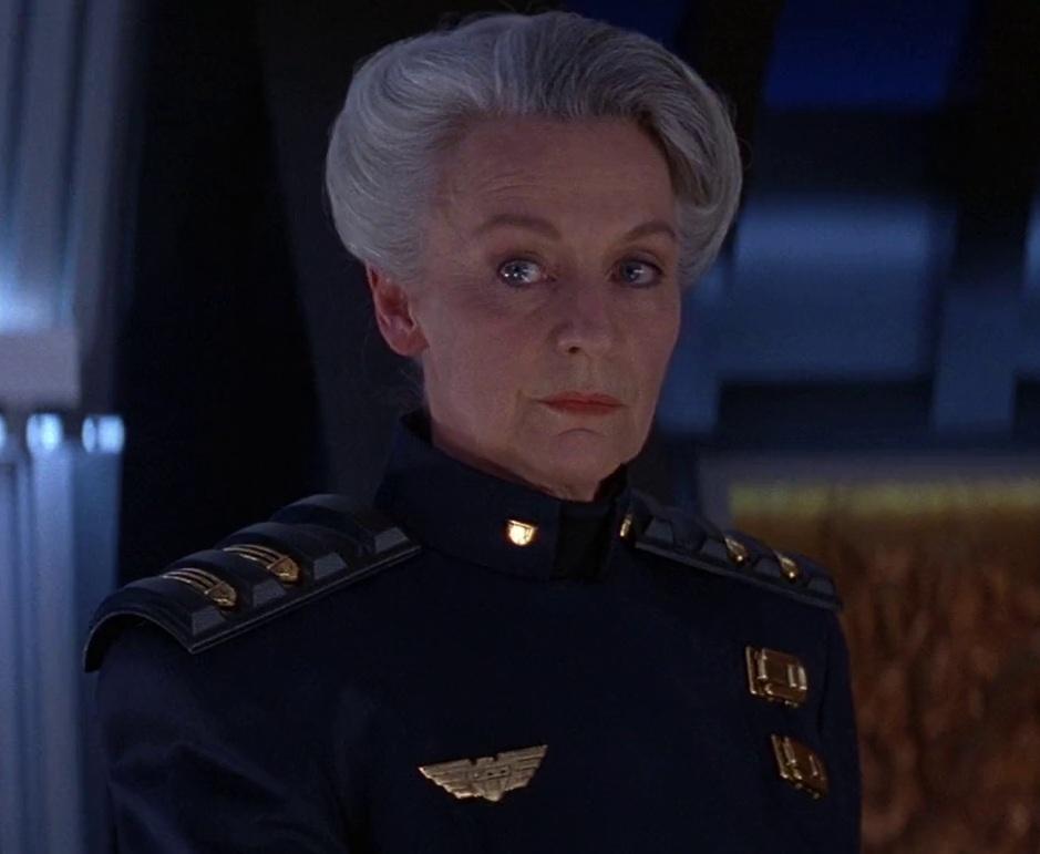 Judge McGruder (Joanna Miles)