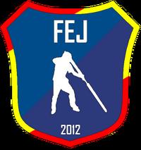 Federación Española de Jugger FEJ logo Wikijugger.png